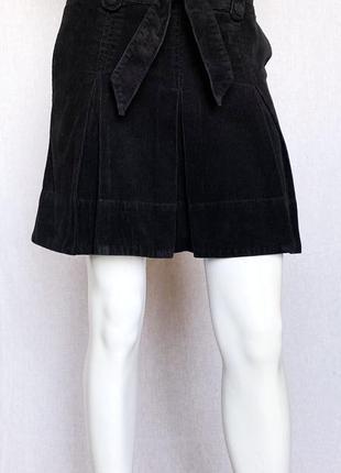 Вельветовая юбка h&m, m
