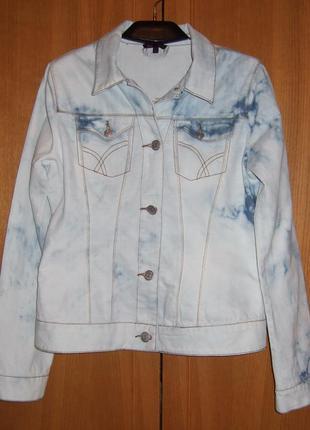 Джинсовая куртка ovs young. италия. супер на высокий рост.
