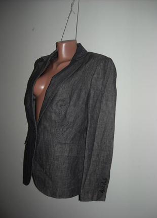 Пиджак серый с продежкой autoraph на подкадке