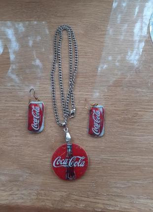 Бижутерия  coca cola