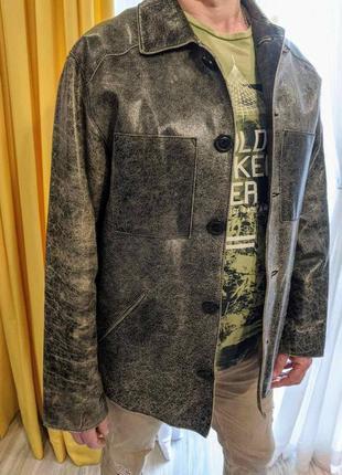 Куртка london brando, натуральная кожа