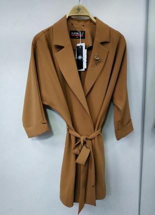 Пиджак удлиненный, накидка.