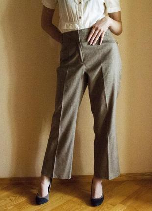 Классические брюки со стрелками marks&spenser autograph (большой размер)