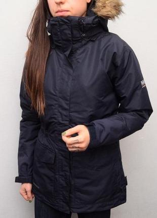 Зимняя удлиненная куртка парка helly hansen