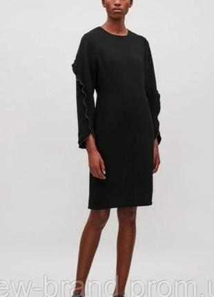 Теплое осенее платье cos