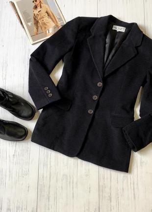 Шерстяной пиджак блейзер шерсть на подкладке
