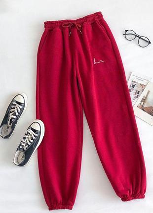 Крутые красные джогеры