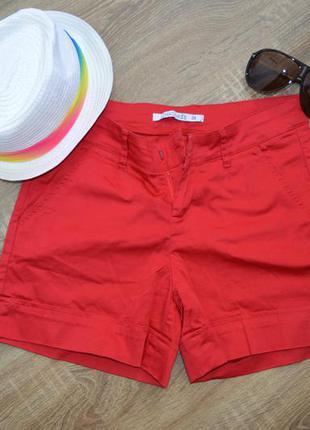 Темно-красные шорты шорти chicoree р. xs и s