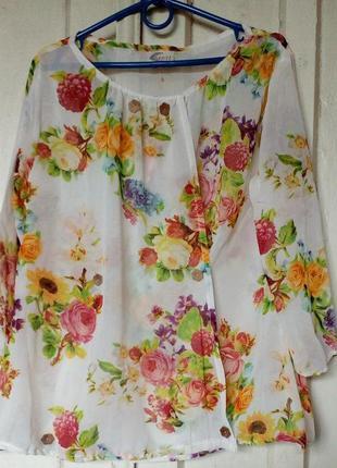 Красивая шифоновая блузка.