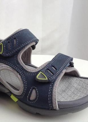 Clarks кожаные босоножки размер 37, 38, 38. 5