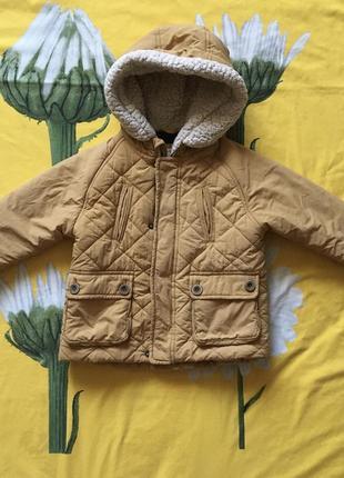 Куртка zara на мальчика 18-24, 86-92
