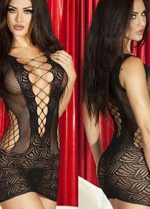 Женское эротическое белье, сексуальное, платье сетка