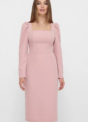 Плаття креп костюм миди