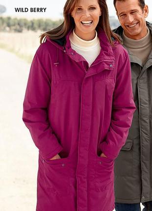 Длинное пальто на флисовой подкладке