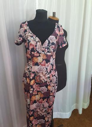 Брендовое очень красивое стильное платье.