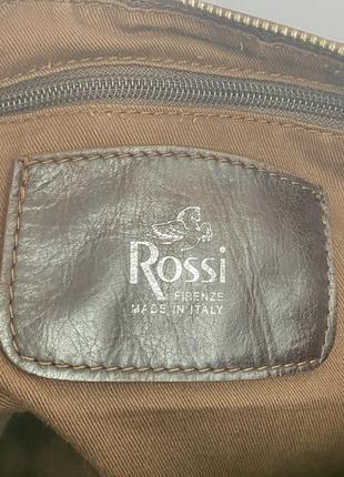 Большая, кожаная сумка-мешок, италия5 фото