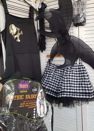 Костюм на хэллоуин helloween готическая фея
