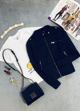 Стильная куртка косуха, бомбер fb sister