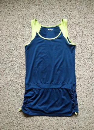 Спортивное платье туника tcm tchibo  для тенниса  размер s