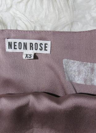 Невероятное, шикарное бельевое платье кокон миди от neon rose3