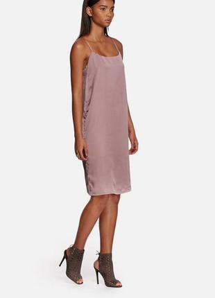 Невероятное, шикарное бельевое платье кокон миди от neon rose5
