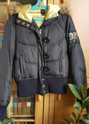 Прикольная курточка теплая