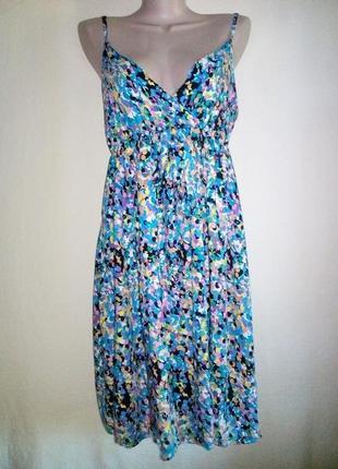 Сарафан яркий, платье с бантиком
