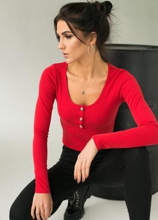 Стильный укороченный пуловер