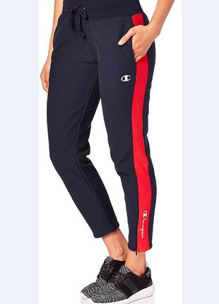 Хлопковые штаны для спорта на флисе champion размер xs-s