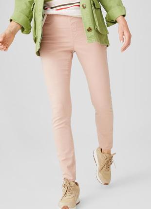 Джеггинсы джинсы push up германия лосины джинсовые штаны нежно пастельно розовый 36 с-м