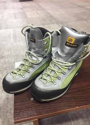 Ботинки трекинговые scarpa triolet  gore-tex. 40 р./26 см.