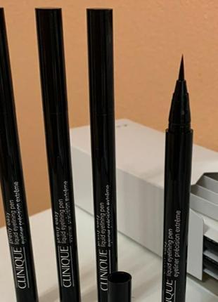 Жидкая подводка для век clinique pretty easy liquid eyelining pen
