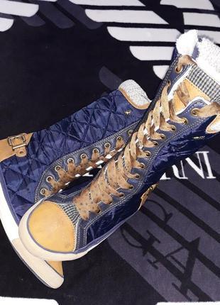 Высокие теплые кроссовки кеды ботинки фирма next