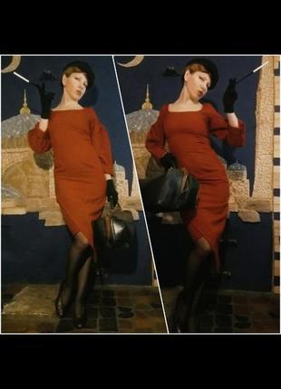 Элегантное платье в стиле ретро