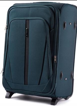 Средний чемодан на 2 колесах 1706 м