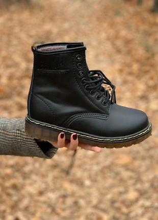 Женские ботинки dr. martens 1460 на меху новинка
