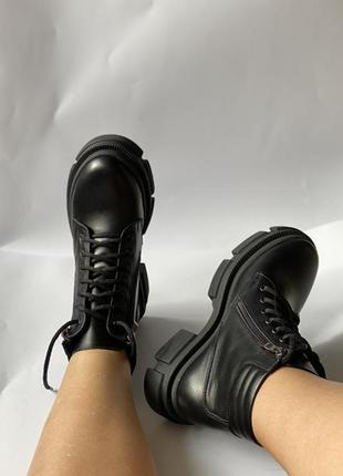Распродажа  сезона , ботинки , кожа натуральная, 36-41р4 фото
