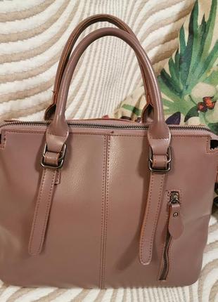 Супер стильная женская сумка натуральная кожа новая
