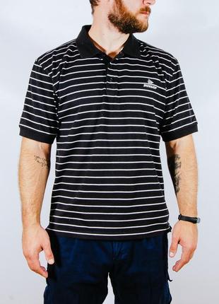 Футболка поло в полоску, мужская футболка полосатая, черная футболка поло
