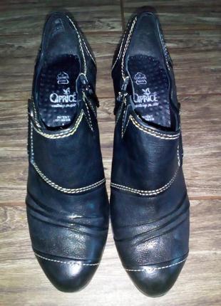 Туфлі кожа