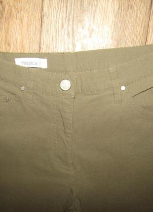 Брюки укороченные брюки р-р 38-12 тягучки yessica