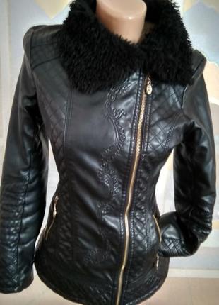 Куртка косуха на меху 42-44