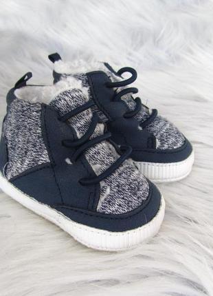 Пинетки утепленные  кроссовки кеды ботинки f&f