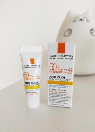 Солнцезащитный крем для лица la roche-posay anthelios sun intolerance cream spf50+