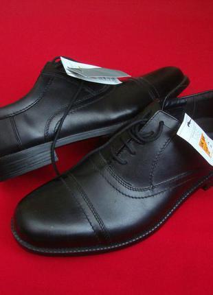 Туфли броги m&s натур кожа 40-41 размер