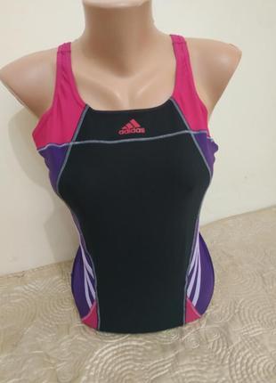 Спортивный слитный купальник от adidas