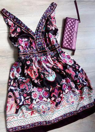 Мега знижки перед відпусткою! eci new york, неймовірно гарна літня сукня-сарафан
