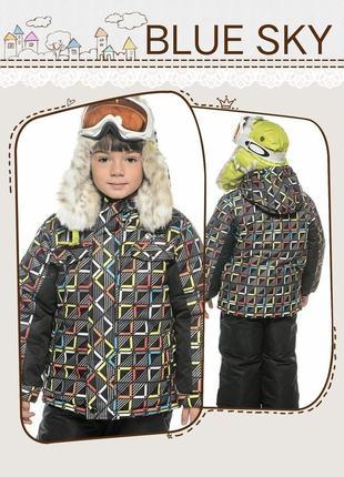 Комплект (куртка + брюки на подтяжках) gusti salve by swb комбинезон