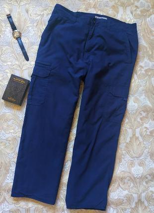 Теплые рабочие брюки. на бирке- 34 р-р