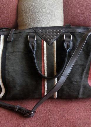 Женская брендовая сумка от david jones\ paris